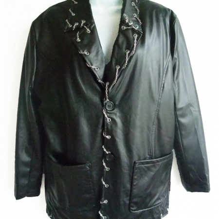 chain-edged jacket