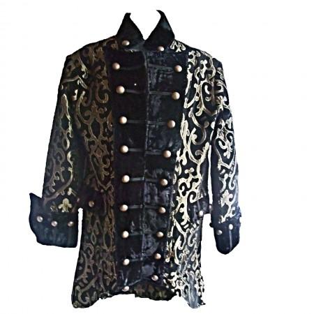 gold swirl gothic jacket