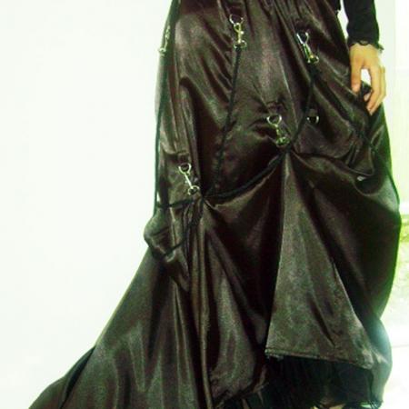 ropes gothic skirt