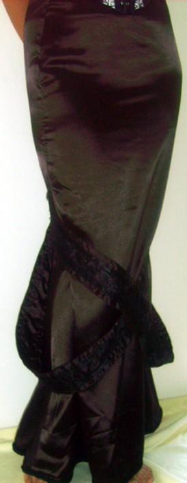 cross-straps skirt