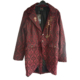 red brocade jacket