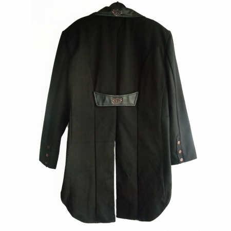 SDL steampunk tail jacket (back)