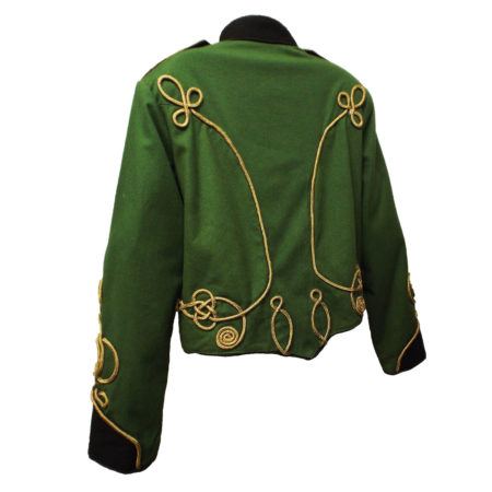 green military jacket (back)