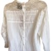 steampunk cream blouse (back)