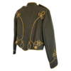 army green military jacket (back)