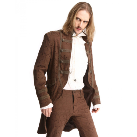 steampunk brown jacket