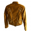 Women's mustard SDL military jacket