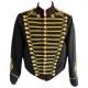 Women's black SDL military jacket