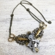 steampunk sewing bee necklace