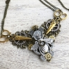 steampunk sewing bee necklace detail