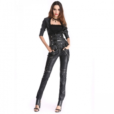 Gothic Pentagramme women's trousers (with top)