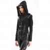 Pentagramme women's hooded jacket (side)